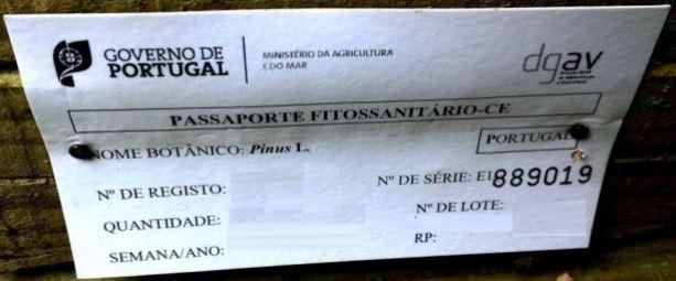 Passaporte Fitossanitário