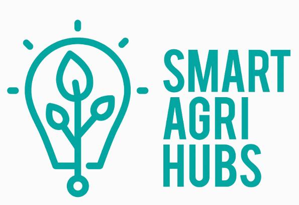 Logo SmartAgriHubs paint