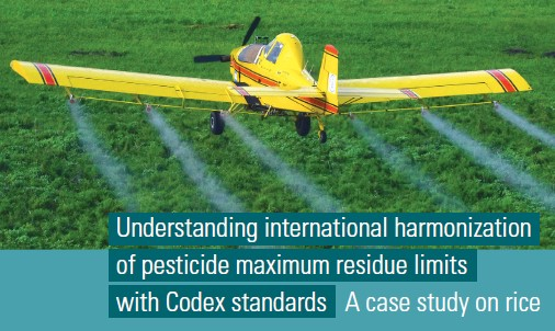 Understanding international harmonization of pesticide maximum residue limits with Codex standards